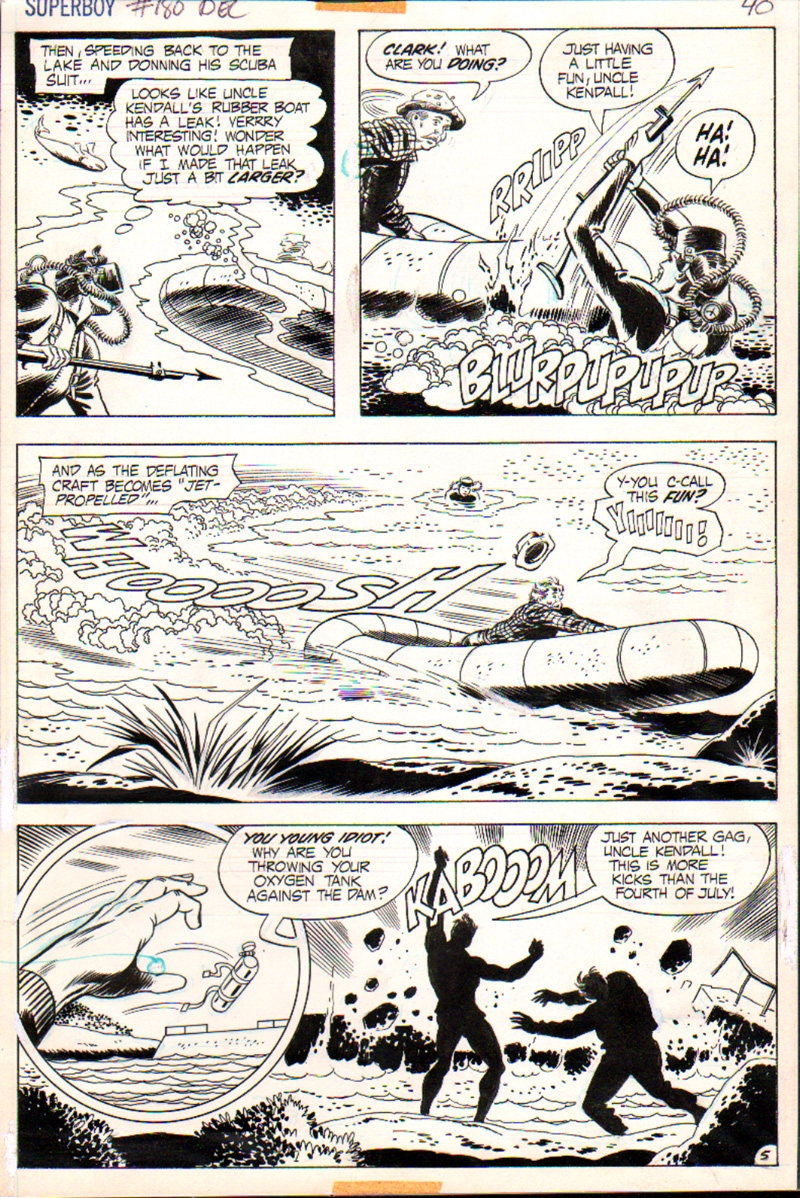 Superboy #180 p 5 (1971)