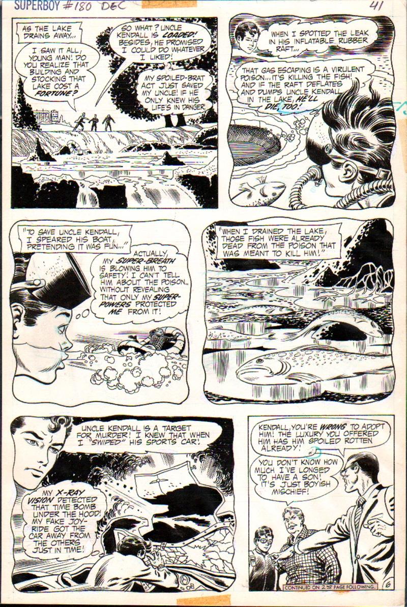 Superboy #180 p 6 (1971)