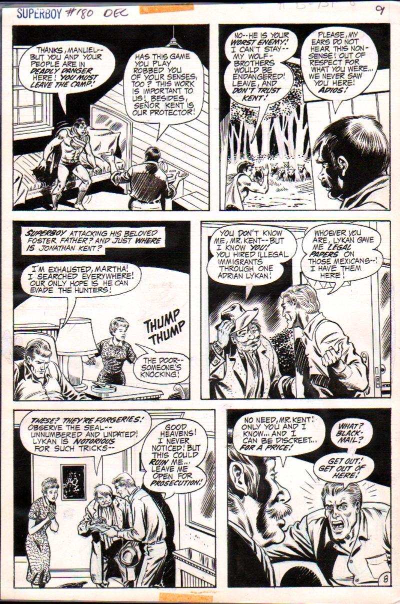 Superboy #180 p 8 (1971)