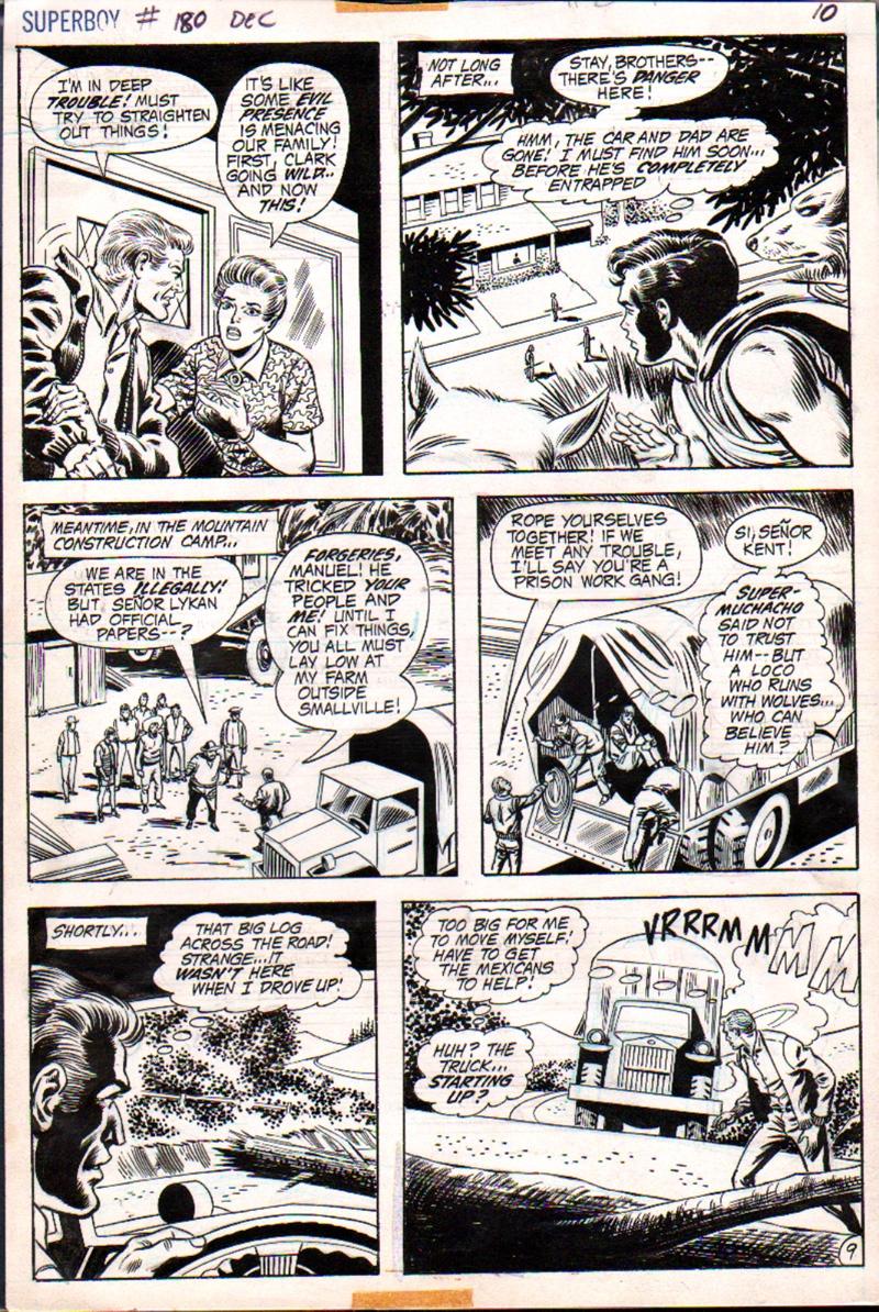 Superboy #180 p 9 (1971)