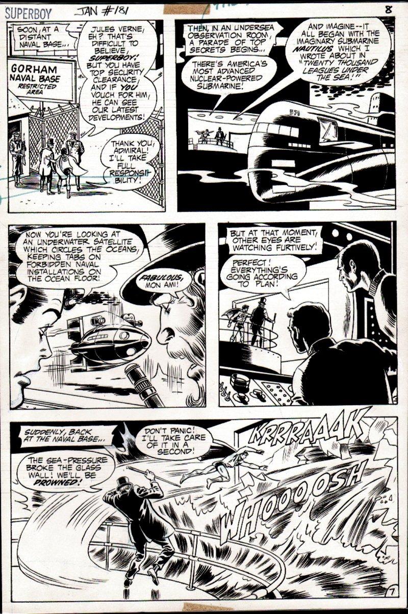Superboy #181 p 7 (1971)