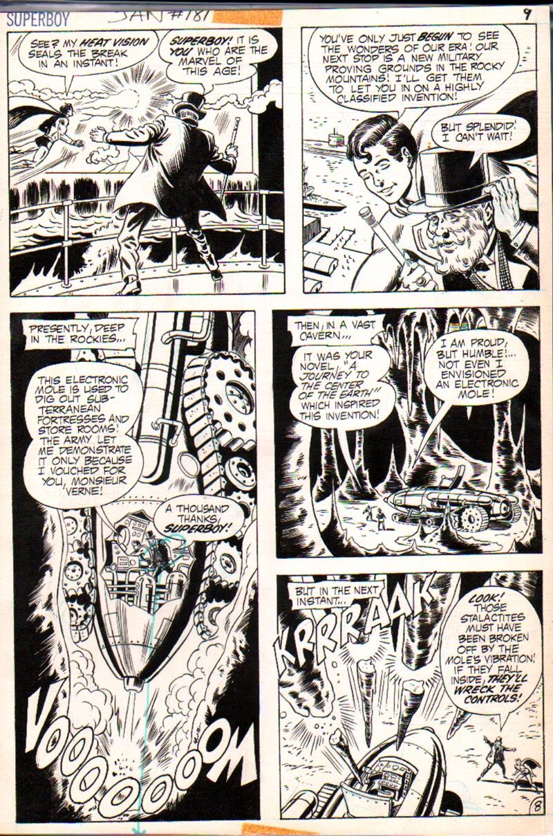 Superboy #181 p 8 (1971)