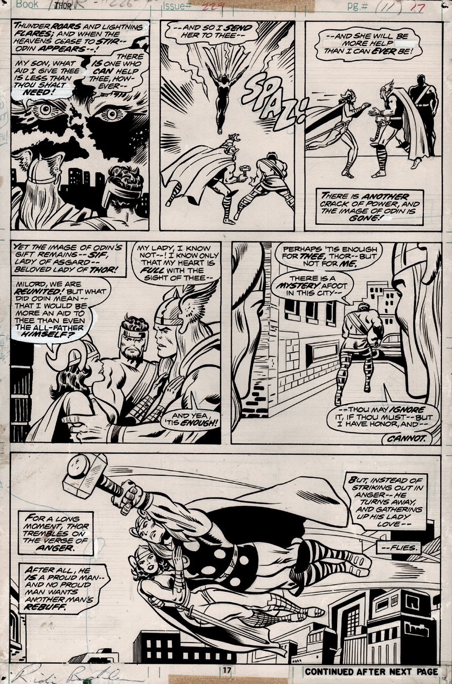 Thor #229 p 17 (1974)