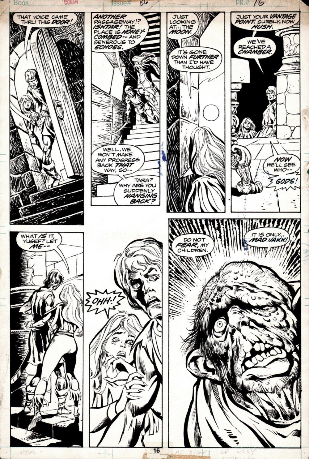 Conan the Barbarian #56 p 16 (1975)