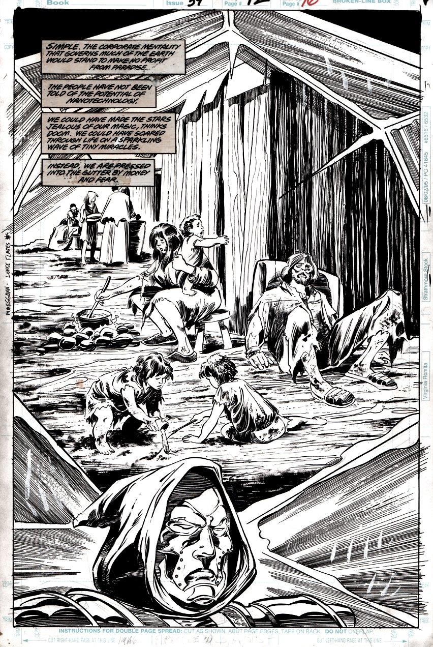 Doom 2099 #39 p 12 SPLASH (DOOM!) 1996