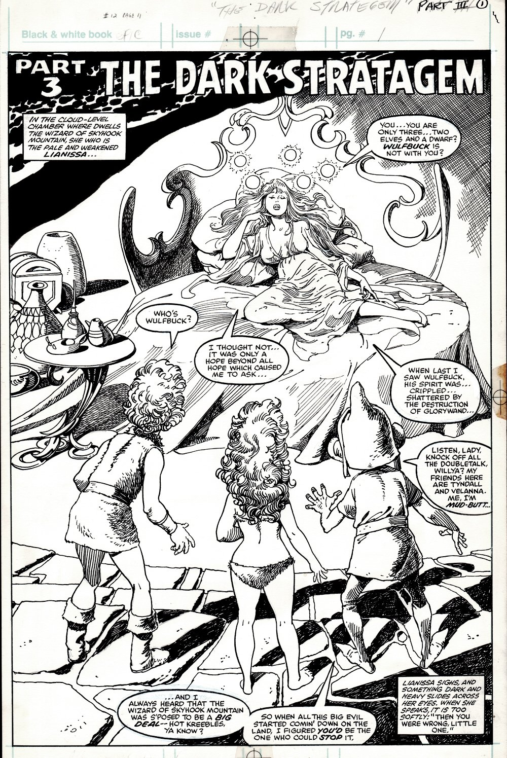 Epic Illustrated #12 page 11 Splash (WEIRD WORLD!) 1982
