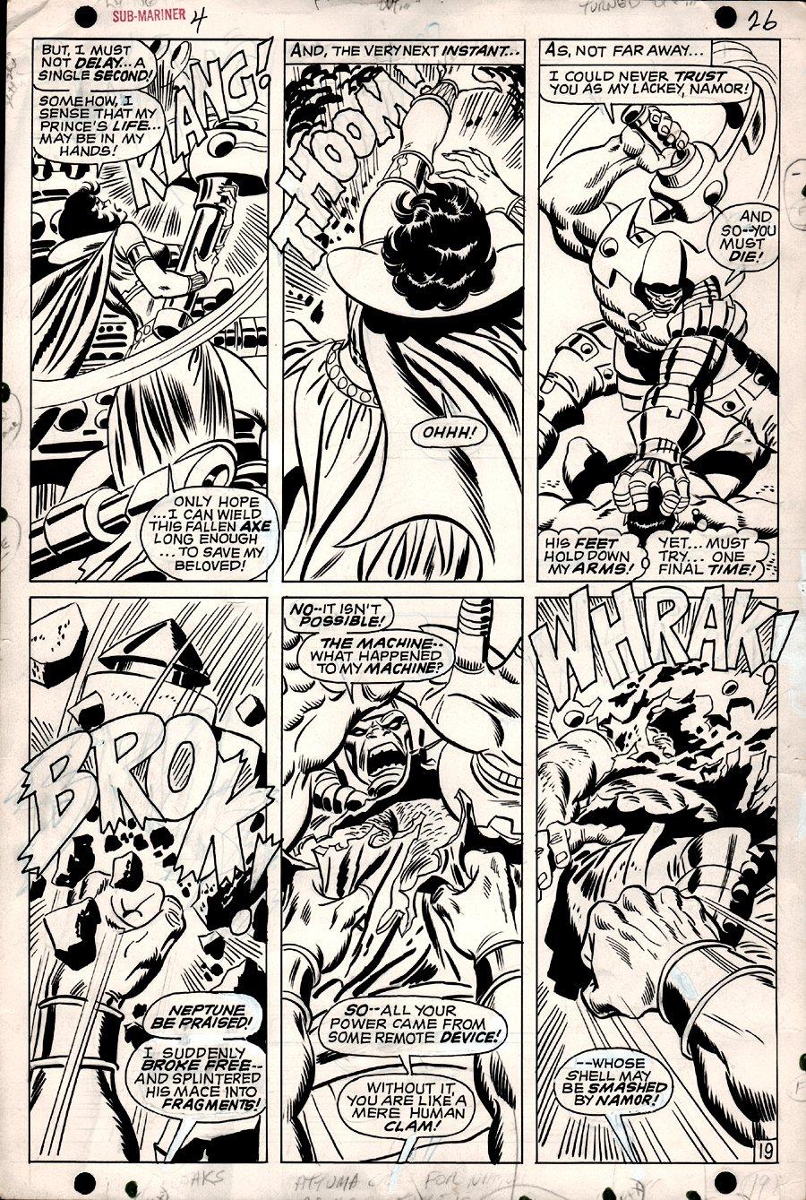 Sub-Mariner #4 p 19 (1968)