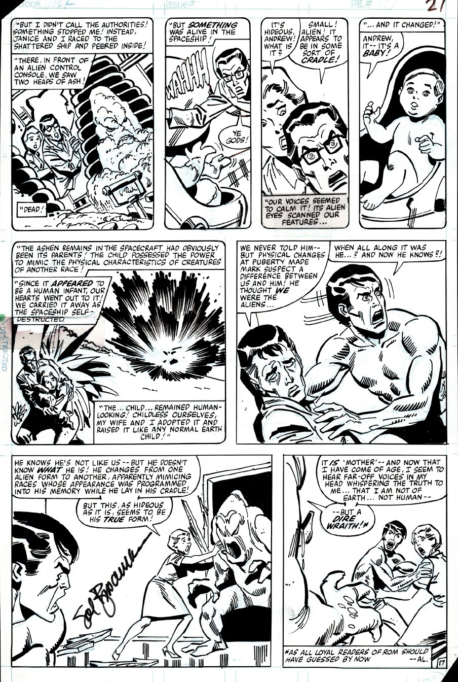 Incredible Hulk #262 p 17 (BRUCE BANNER CONFRONTS THE