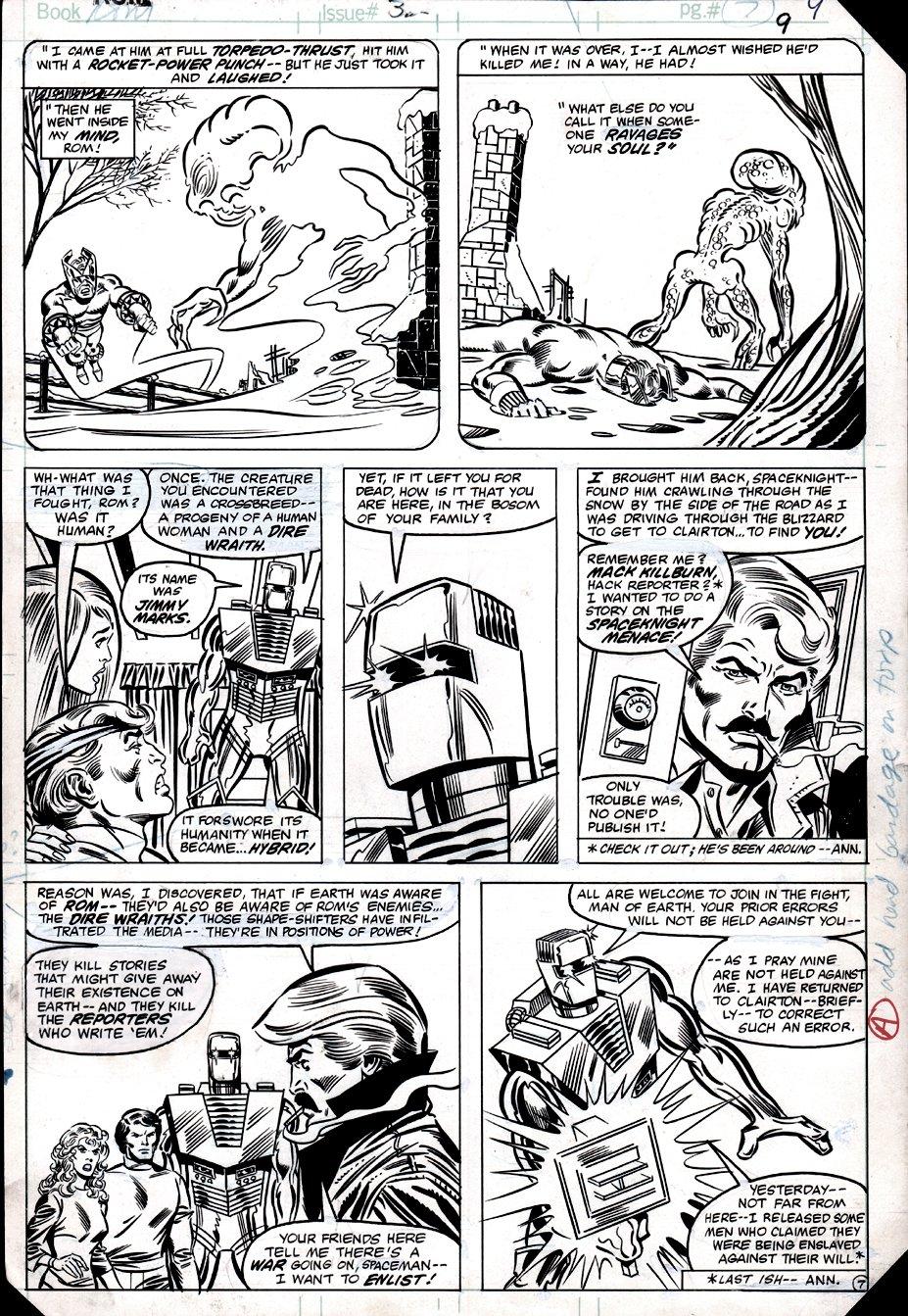 ROM #32 p 7 (ROM, Torpedo, Hybrid, Brandy Clark, Steve Jackson!) 1982