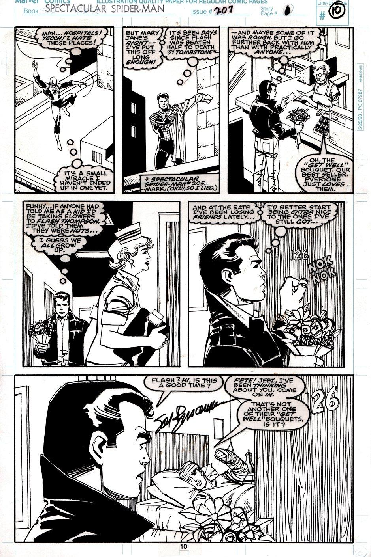 Spectacular Spider-Man #207 p 10 (Spider-Man, Peter Parker, & Ben Reilly!) 1993