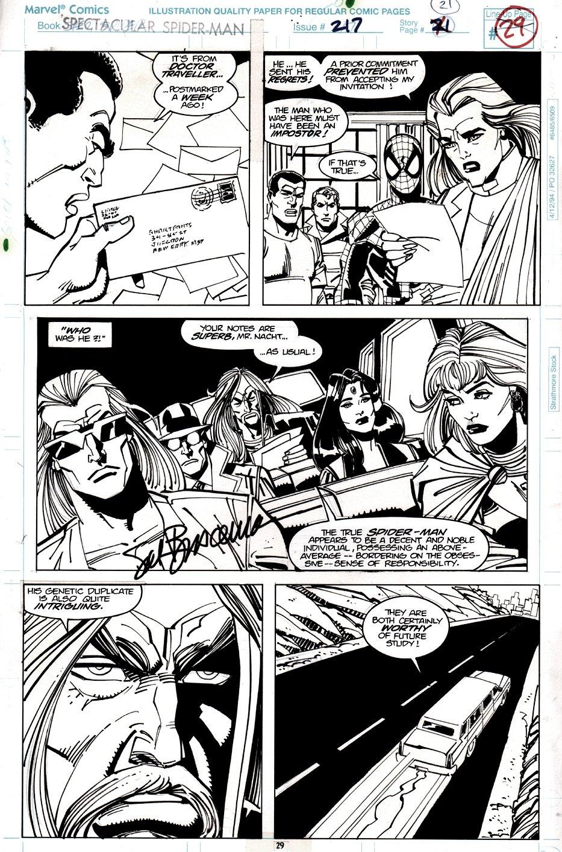 Spectacular Spider-Man #217 p 21 (1994)
