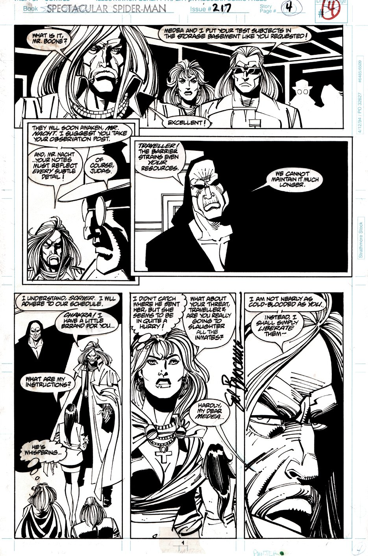 Spectacular Spider-Man #217 p 4 (1994)