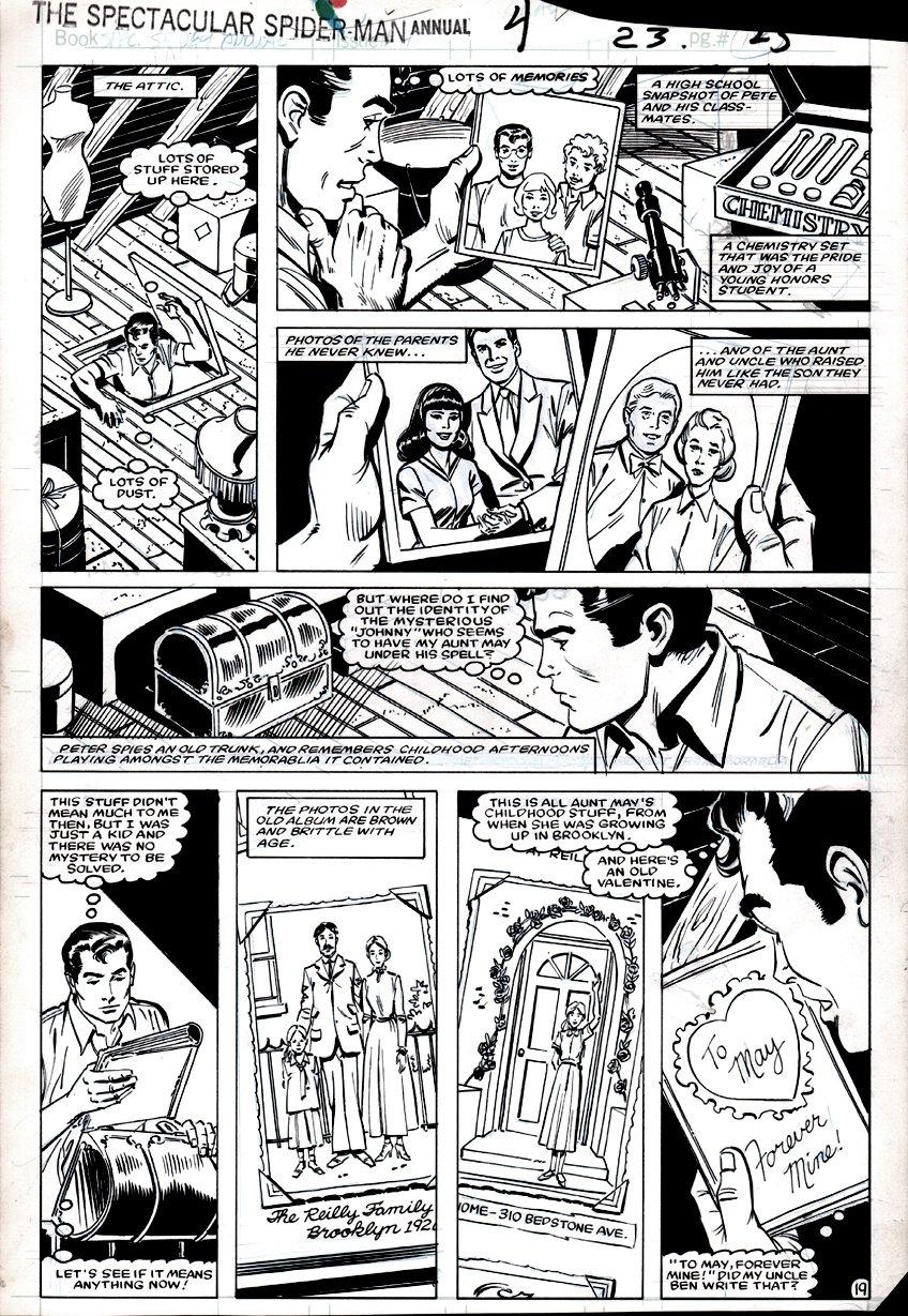 Spectacular Spider-Man Annual #4 p 19 (1984)