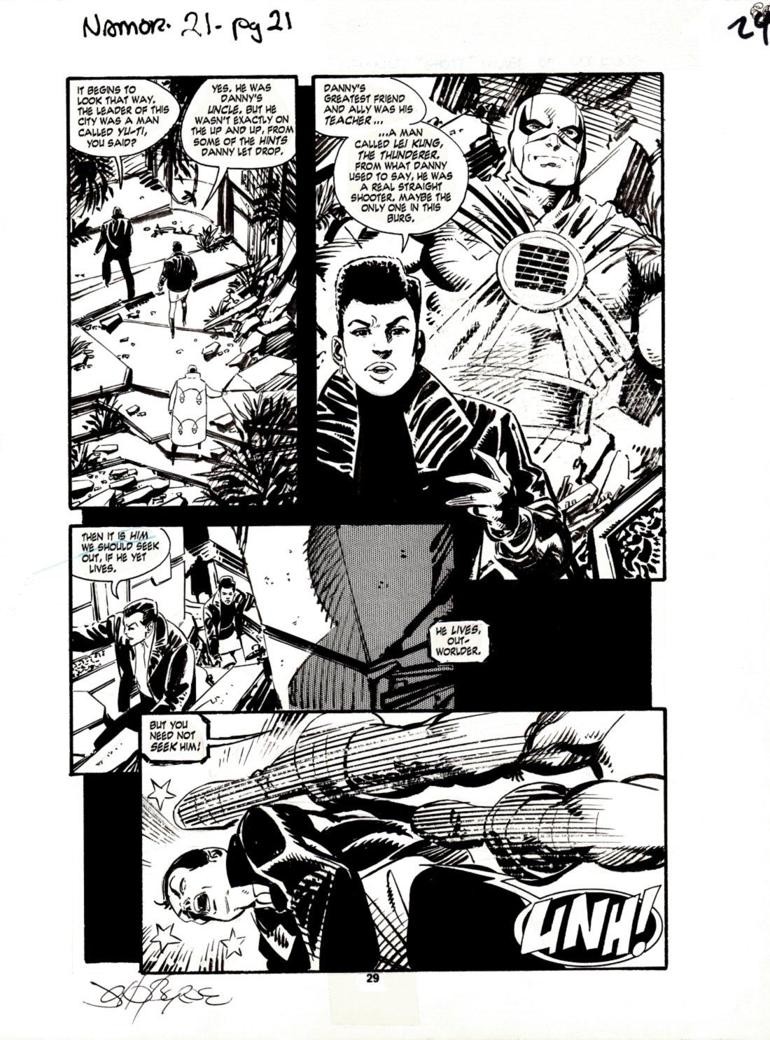 Namor, the Sub-Mariner #21 p 29 (1991)