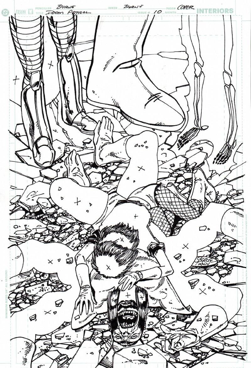 Doom Patrol #10 Cover (2004)
