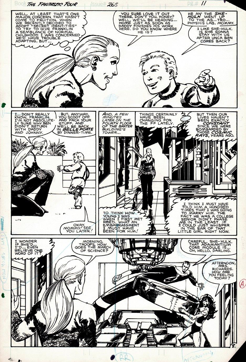 Fantastic Four #265 p 8 (1983)