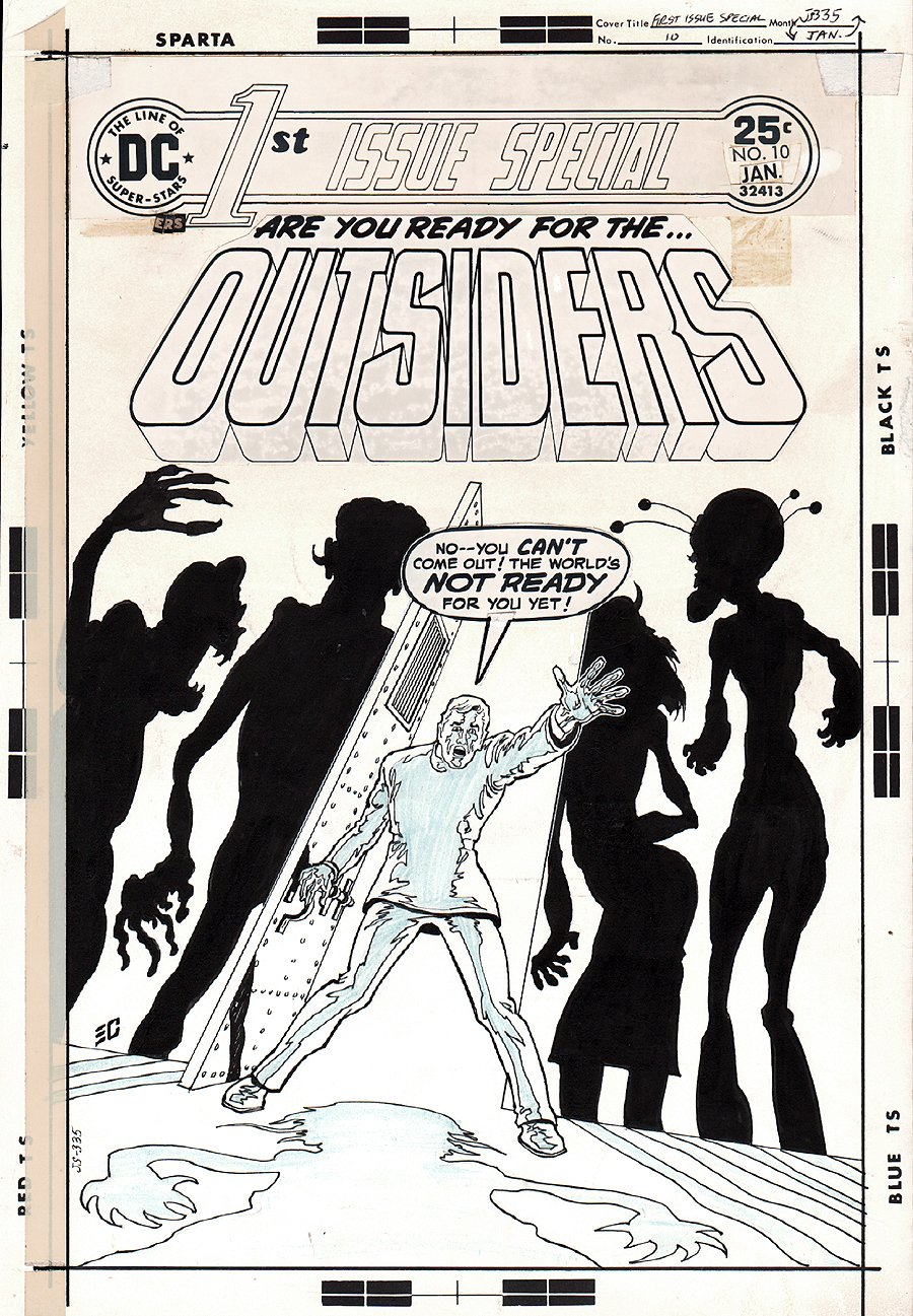 1st Issue Special #10 Cover (1976)