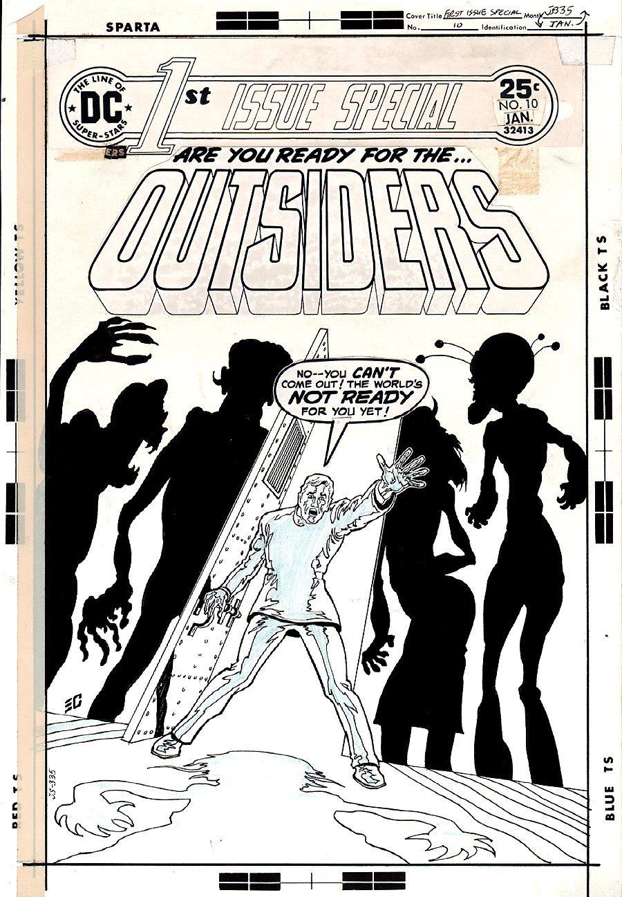 1st Issue Special #10 Cover (FIRST OUTSIDERS!) 1976