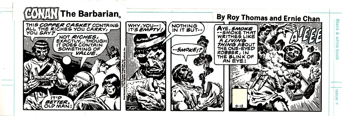 Conan the Barbarian Daily Strip September 12 1979
