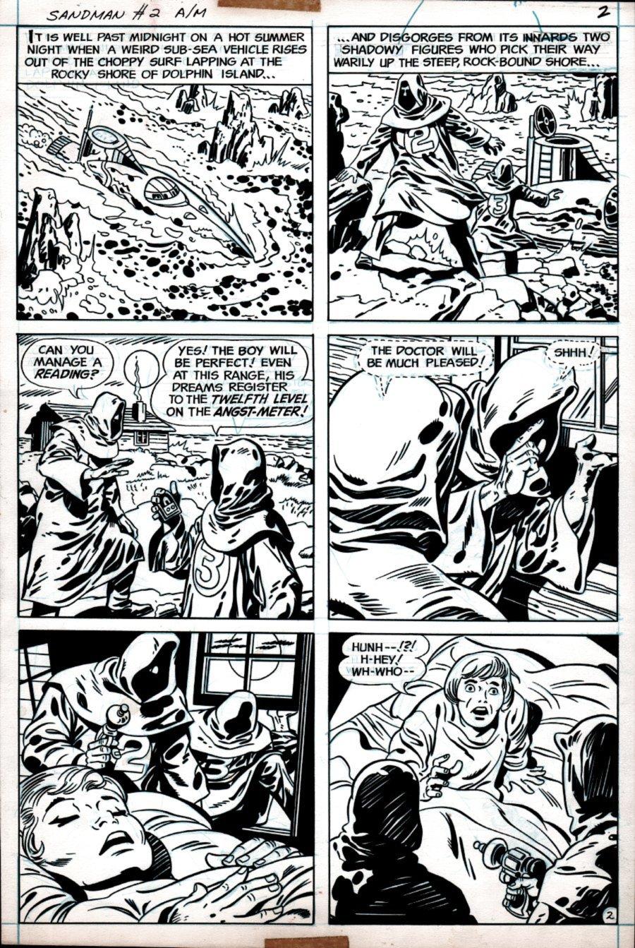 Sandman #2 p 2 (1975)