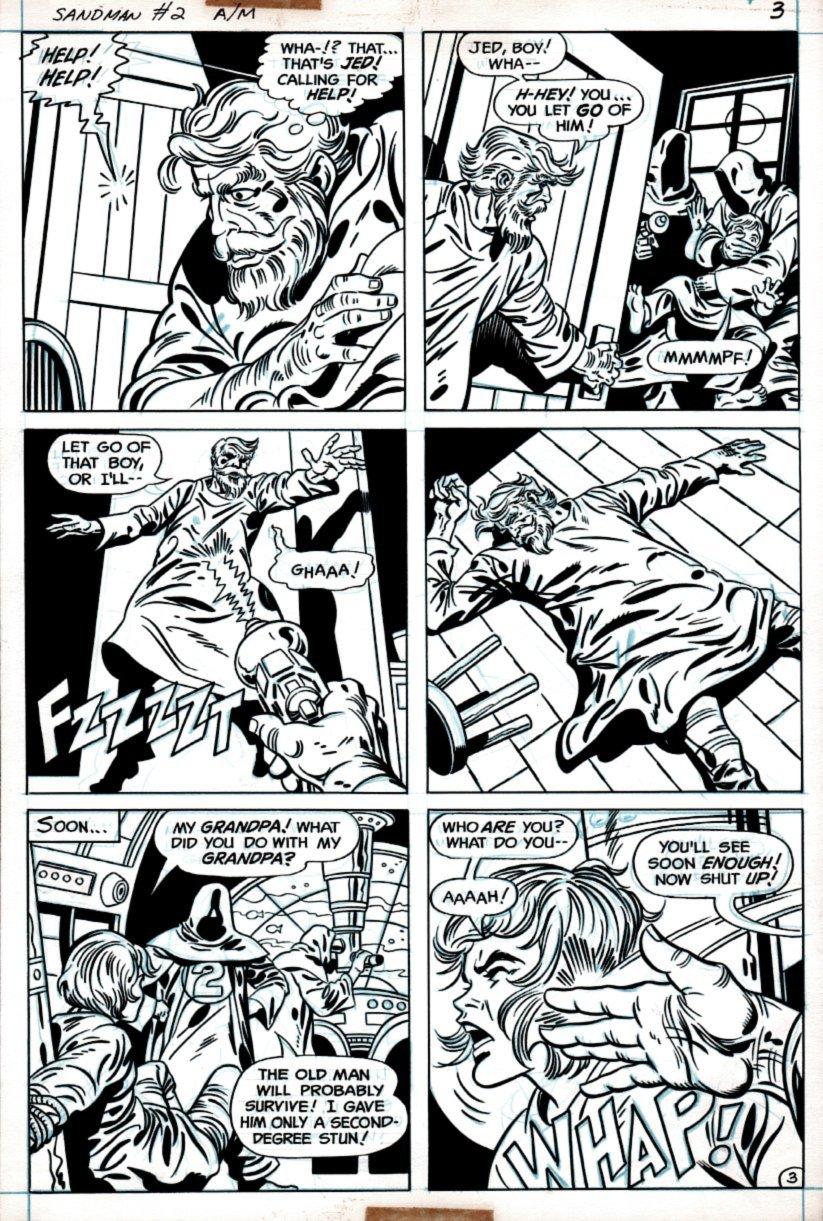 Sandman #2 p 3 (1975)