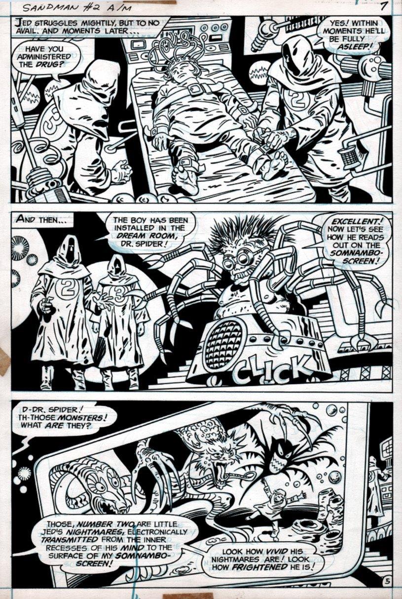 Sandman #2 p 5 (1974)