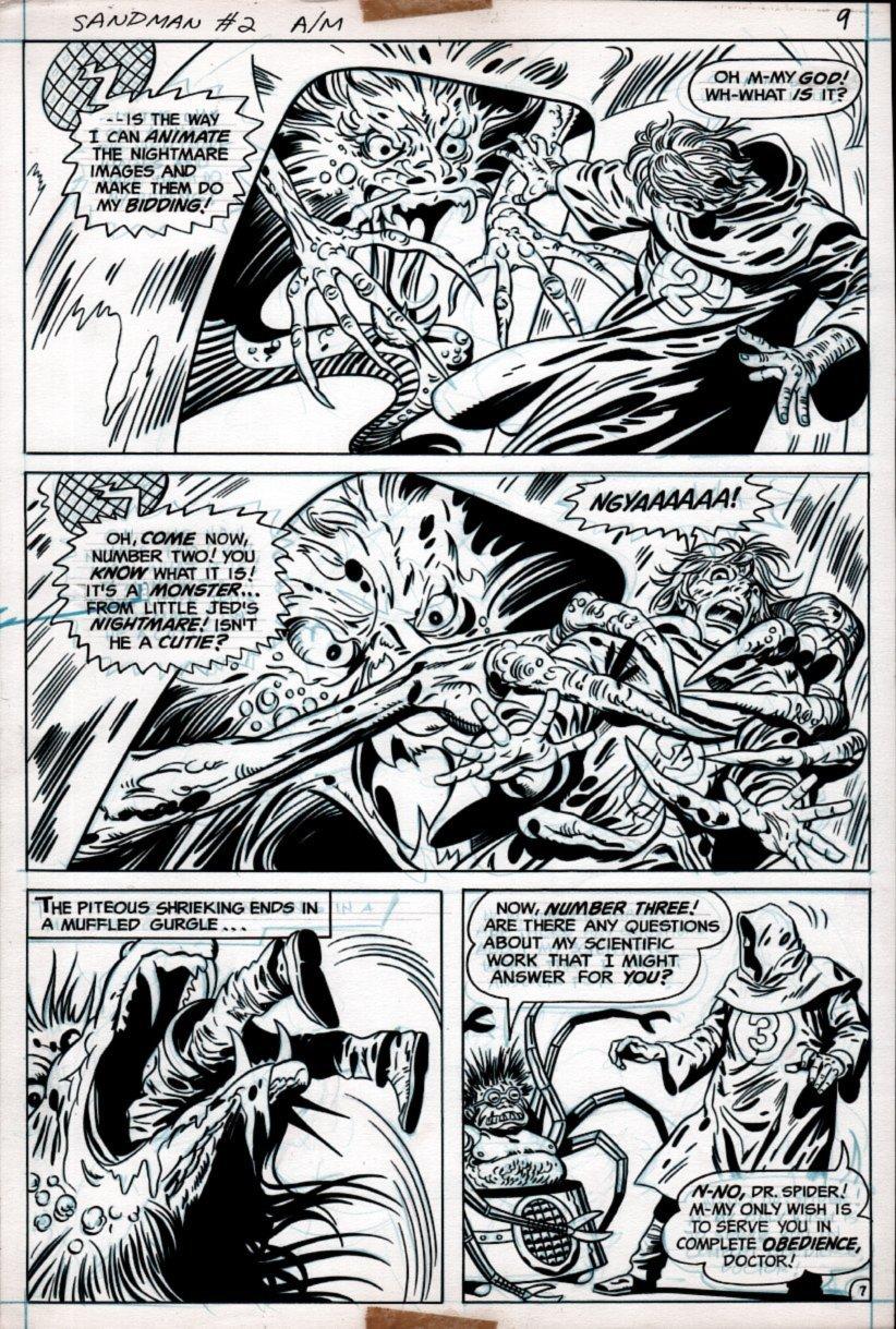 Sandman #2 p 7 (1974)