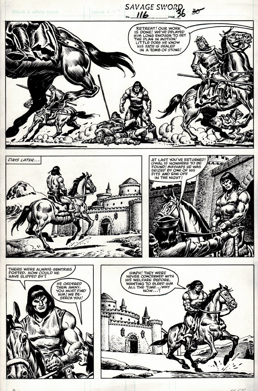 Savage Sword of Conan #116 p 36 (1985)