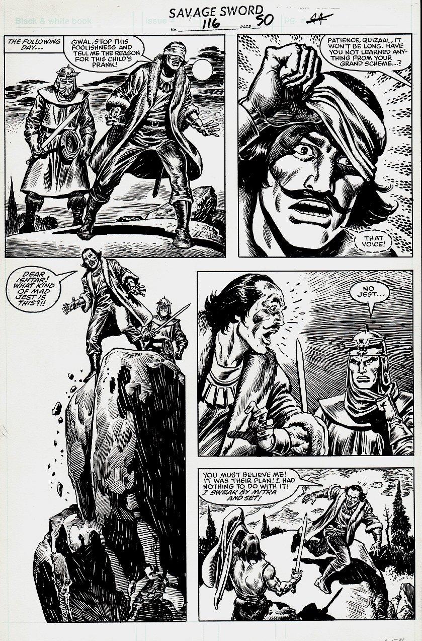 Savage Sword of Conan #116 p 50 (1985)