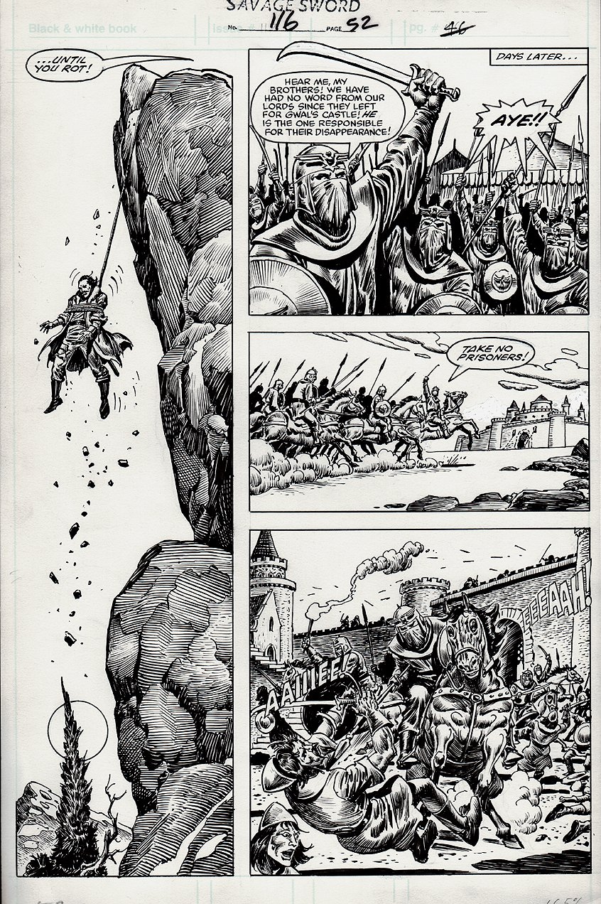 Savage Sword of Conan #116 p 52 (1985)
