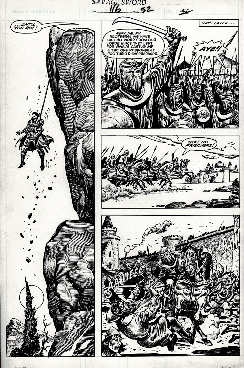 Savage Sword of Conan #116 p 52 (1985)