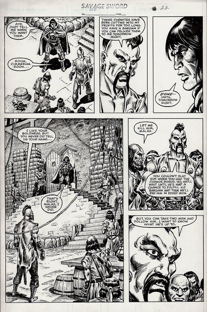 Savage Sword of Conan #122 p 22 (1985)