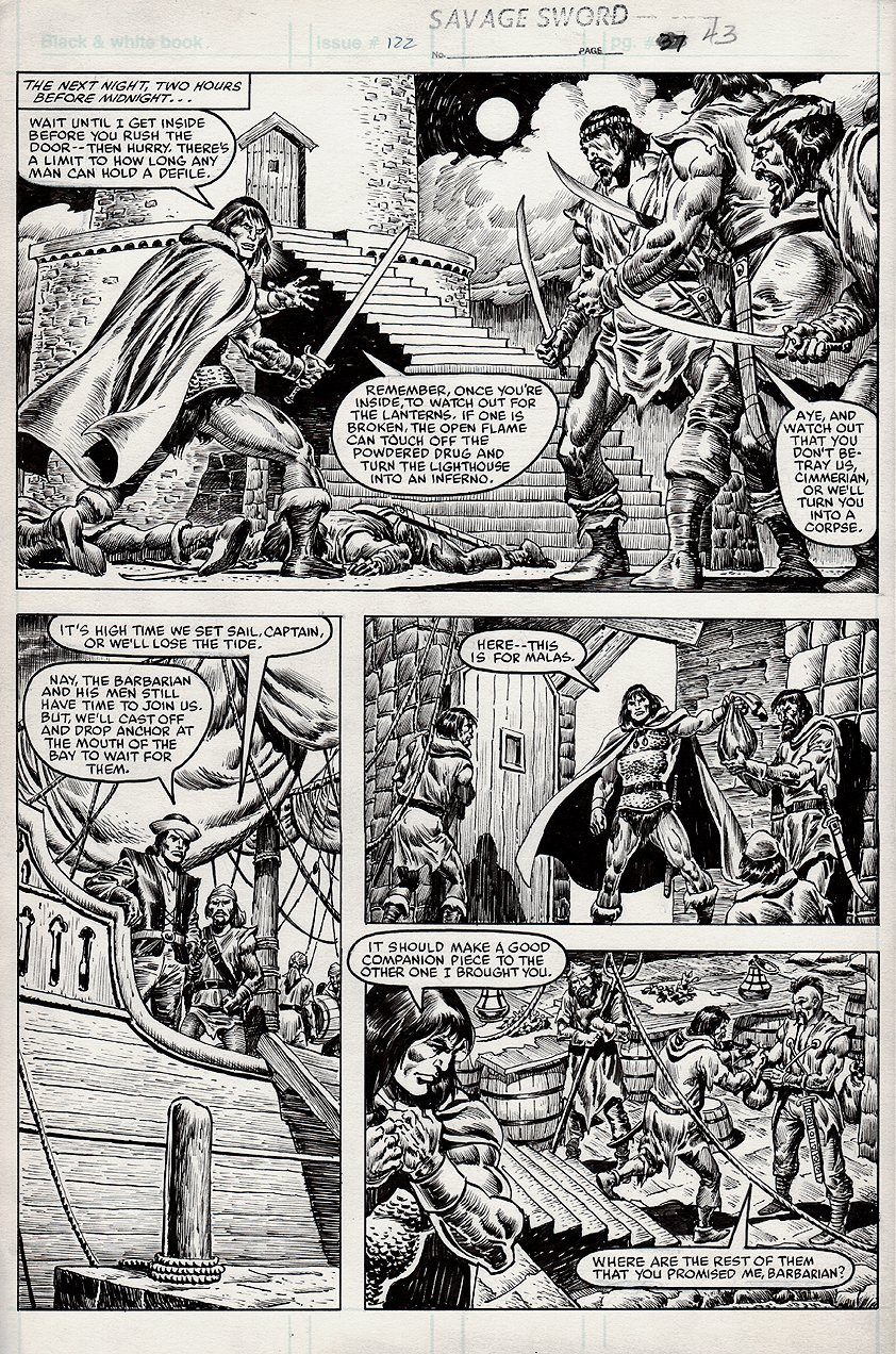 Savage Sword of Conan #122 p 43 (1985)