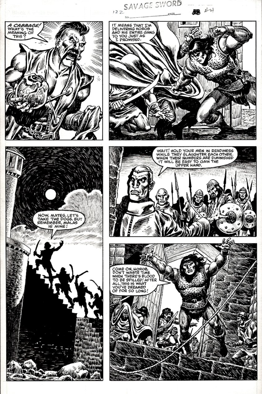 Savage Sword of Conan #122 p 44 (1985)