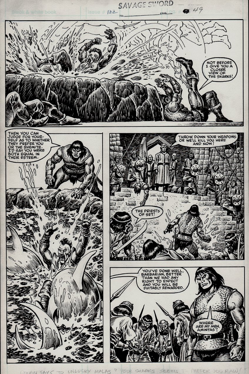 Savage Sword of Conan #122 p 49 (1985)