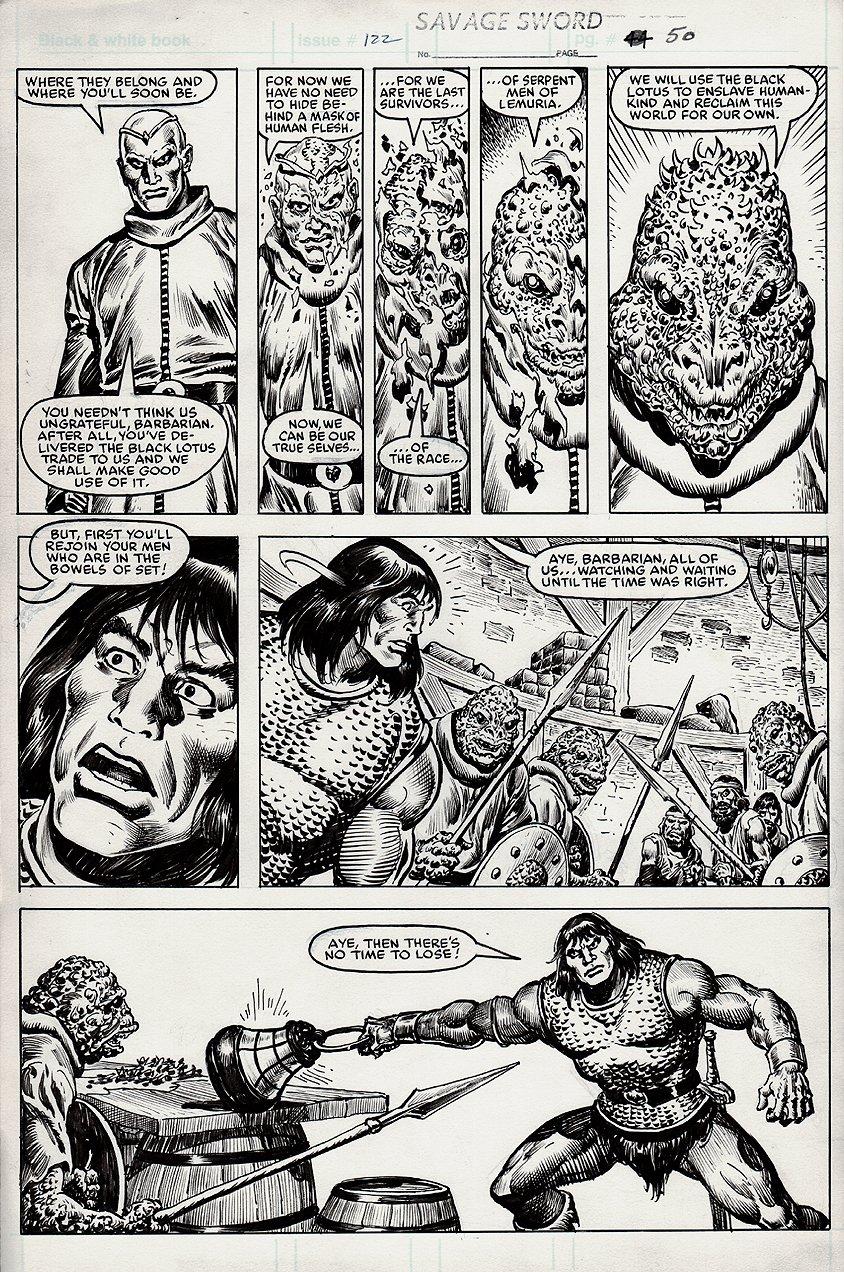 Savage Sword of Conan #122 p 50 (1985)
