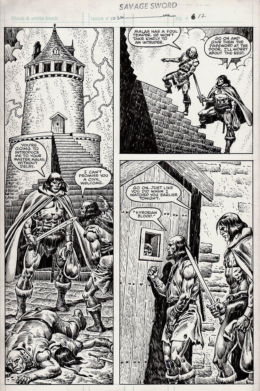 Savage Sword of Conan #122 p 12 (1985)