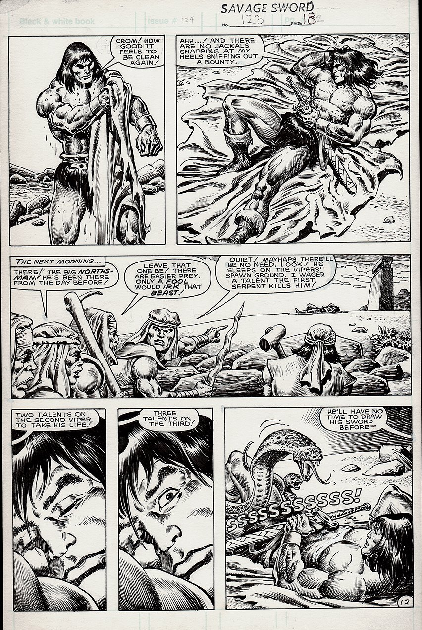 Savage Sword of Conan #123 p 12 (1985)