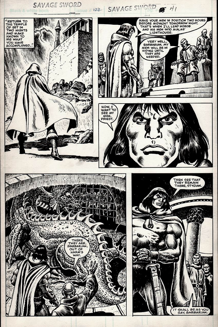 Savage Sword of Conan #122 p 41 (1985)