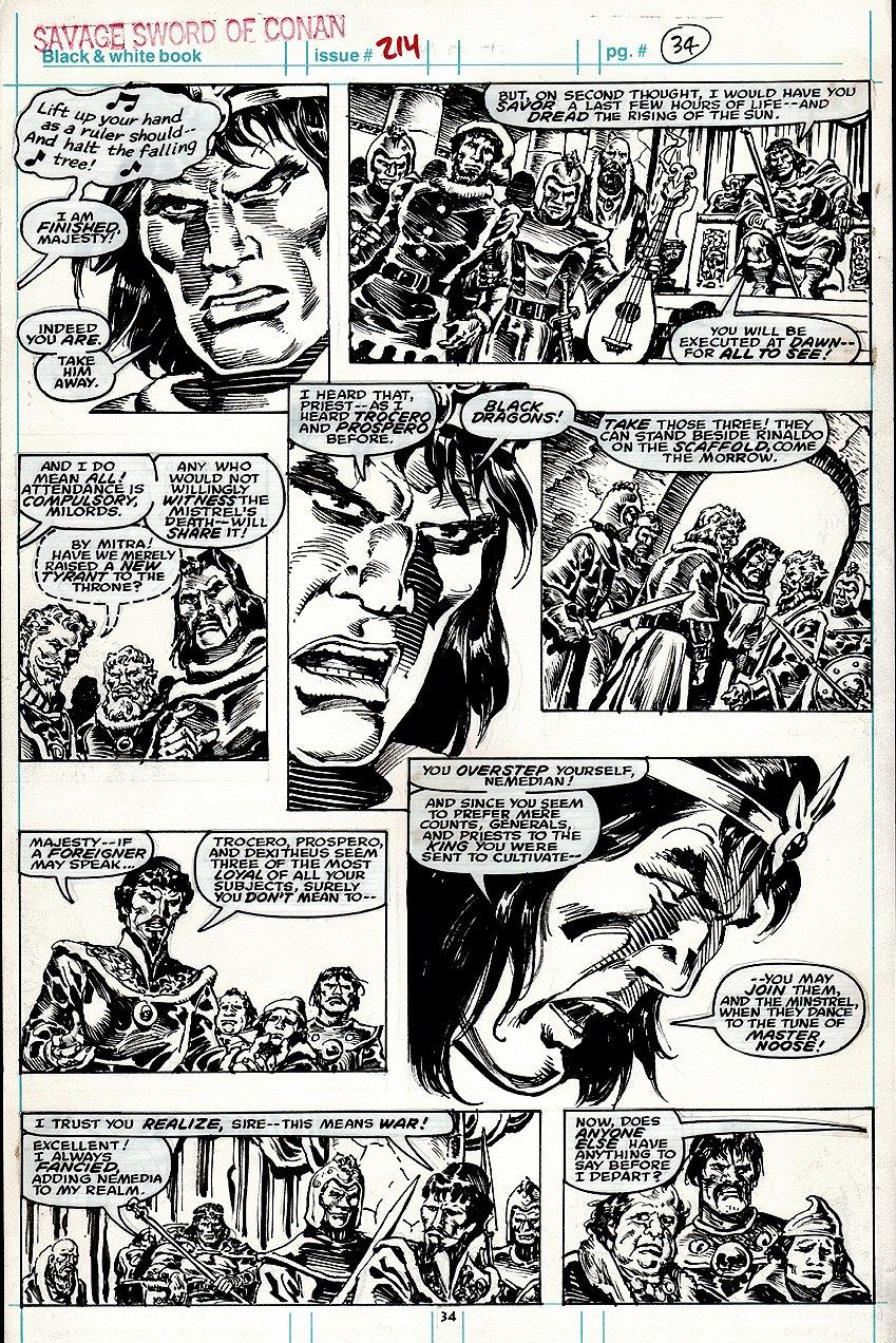 Savage Sword of Conan #214 p 34 (1993)
