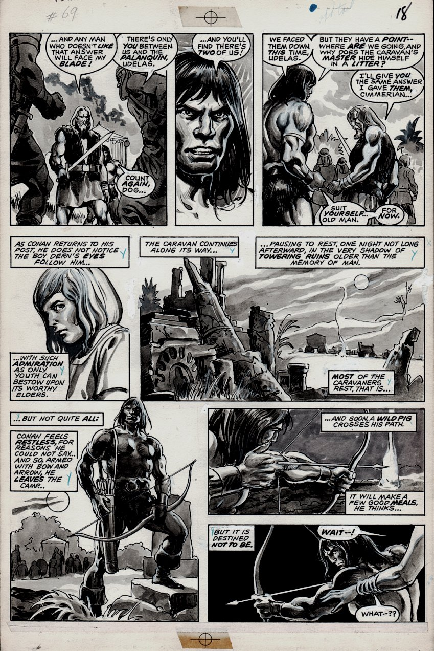 Savage Sword of Conan #69 p 22 (1981)