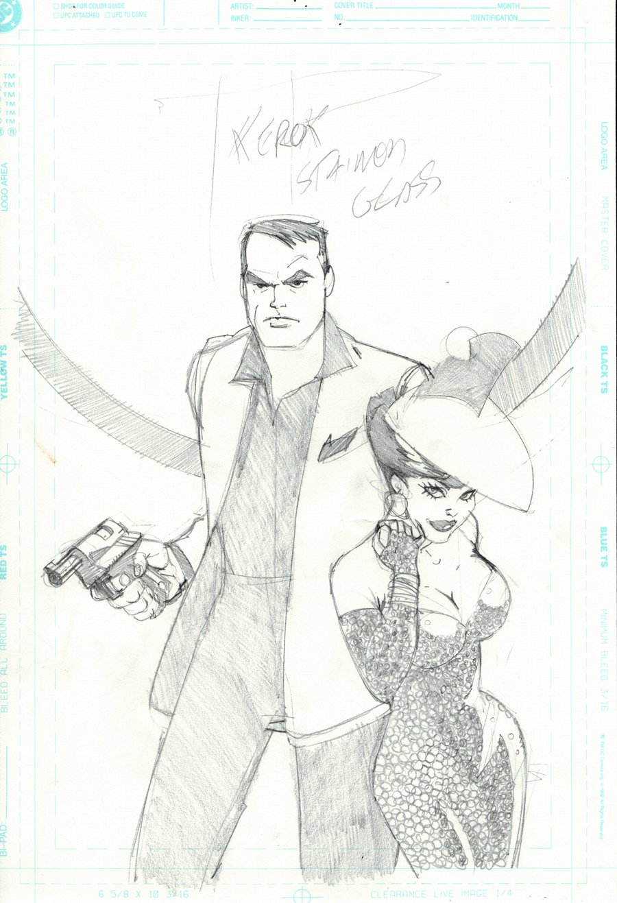Pulp Fantastic #2 Unpublished Cover (1999)