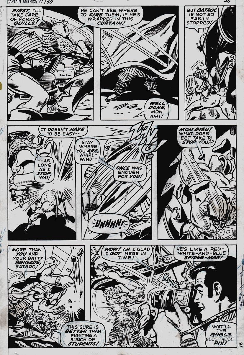 Captain America #130 p 19 (1970)