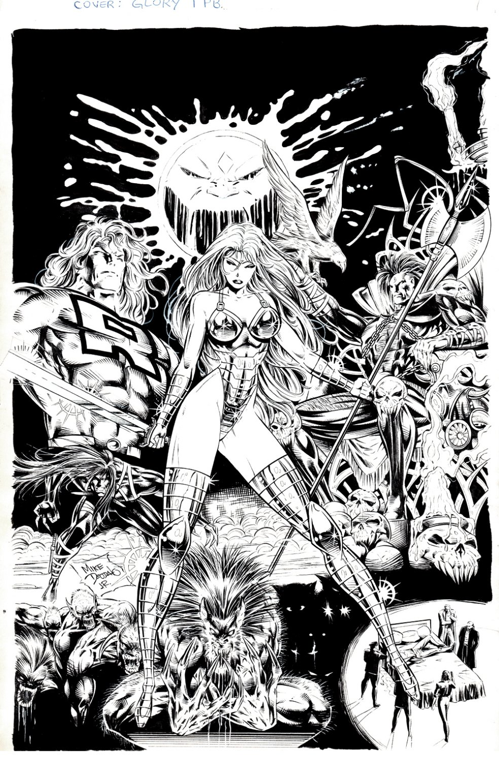 Glory Trade Paperback Cover