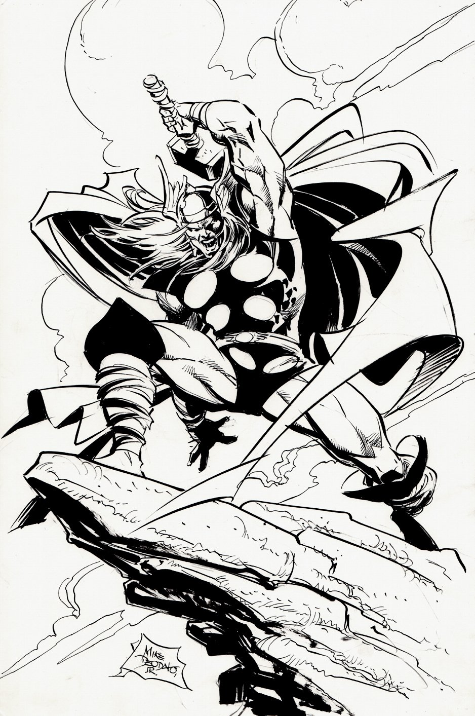 THOR Cover Quality Pinup