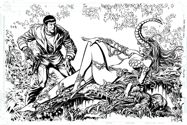 Star Trek / X-Men #1 SPLASH (1996)