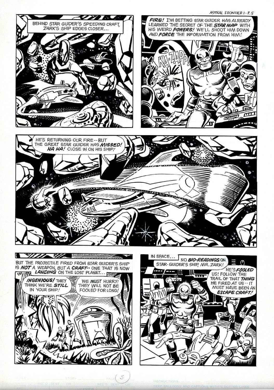 Revolver #1 p 5 (DITKO PENCILS & INKS!) LARGE ART