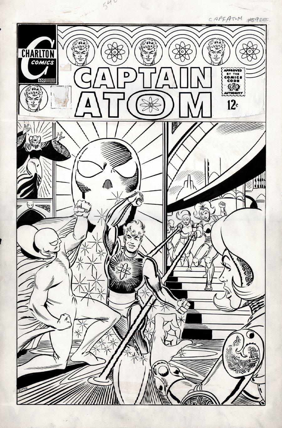 Captain Atom #90 Cover (LARGE ART) 1967