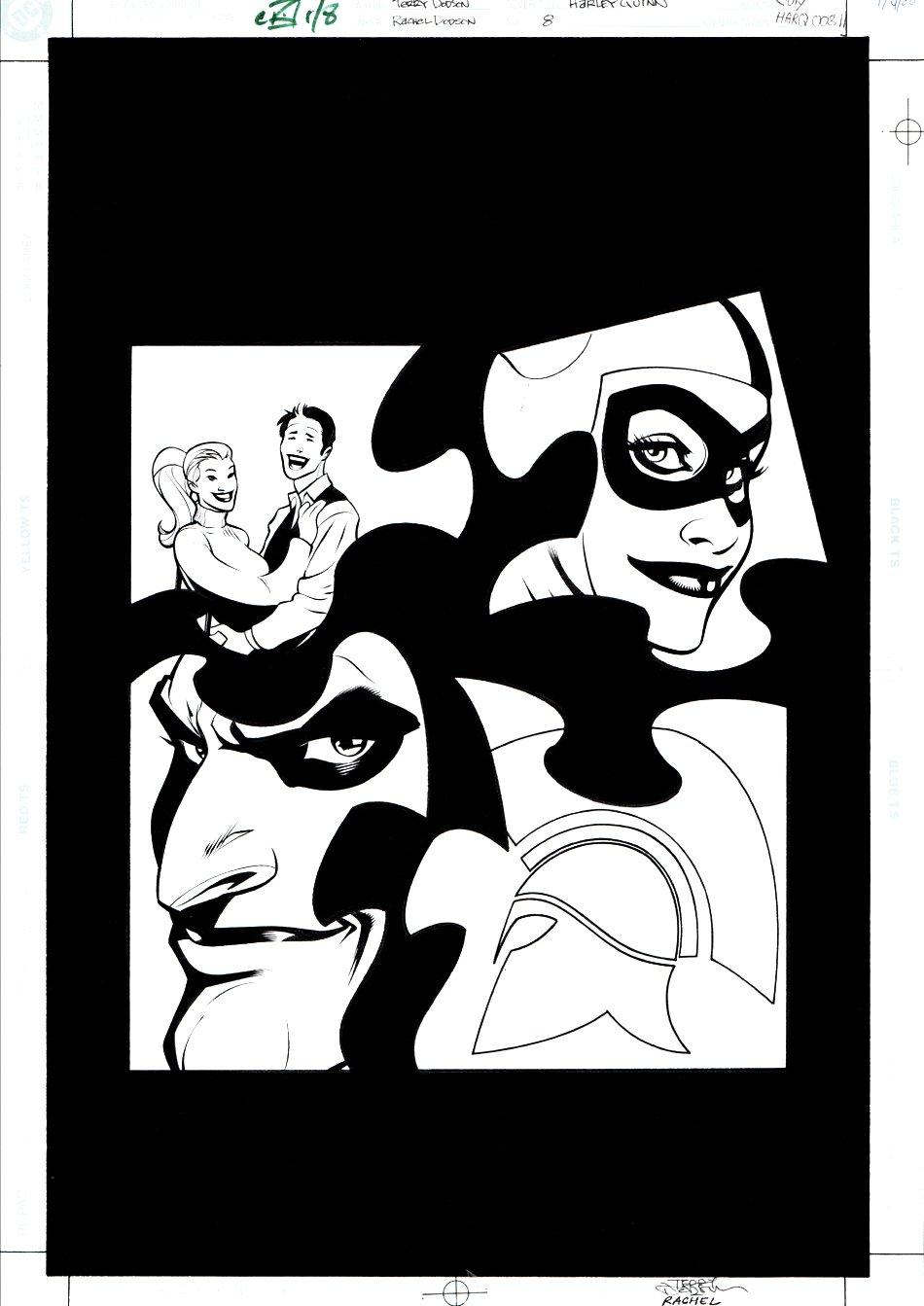 Harley Quinn #8 Cover (JOKER / HARLEY!) 2001