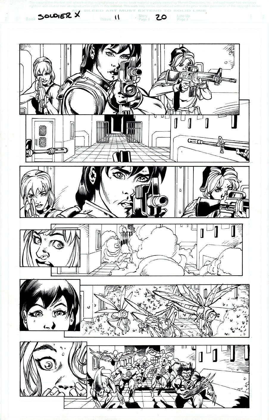 Soldier X #11 p 20 (X-Men - Wolverine Action!) 2003